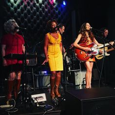 @charliebfaye and the Fayettes at @thetownsendaustin debuting their amazing new songs. #livemusic #austinmusic #girlgroup