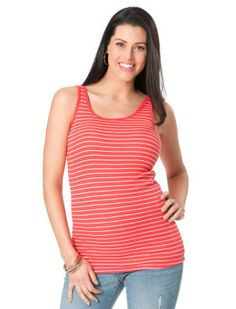 cc864a939a51f5 31 Fascinating Red and White Striped Tank Top images