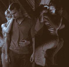 They look so cozy! Divergent Cast, Divergent Fandom, Divergent Funny, Divergent Insurgent Allegiant, Tris And Tobias, Tris And Four, Theodore James, Theo James, Tris Et Quatre