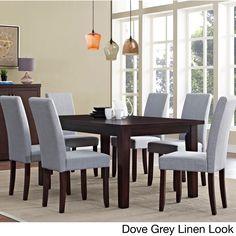 Wyndenhall Normandy Large 7-piece Dining Set (Dove Grey), Size 7-Piece Sets