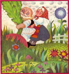 Anemone: Done Stan - Ridichea uriasa illustrations Harry Clarke, Maxfield Parrish, Aubrey Beardsley, Kay Nielsen, 1 John, Beatrix Potter, Illustrators, My Books, Childhood