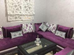 Canapé – canapé U – canapé moderne – salon chic – deco – Crea design