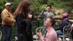 Oh you know, I just died. No big deal. :) Kory and Brittany - Disneyland Proposal by Michael Dalton. Kory Kersavage proposes to a completely surprised Brittany Kyle at the Happiest Place on Earth! -- the Mark Twain Riverboat at Disneyland on May 2nd, 2012.
