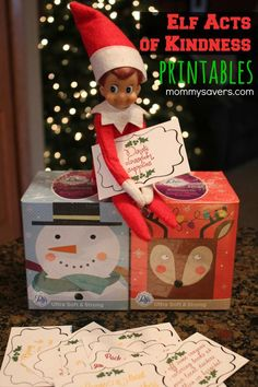NOT NAUGHTY Elf on the Shelf Printables. Bring in the True meaning of Christmas. Your Elf on the Shelf doesn't have to be naughty. In fact, you can use your elf to inspire kindness. These Elf on the Shelf Printables can be printed and presented… Christmas Angels, Winter Christmas, All Things Christmas, Christmas Holidays, Christmas Ideas, Christmas Decor, Christmas Inspiration, Christmas Projects, Christmas Activities