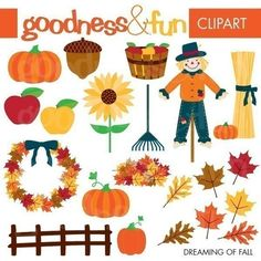 1000 Images About FALL CLIPART On Pinterest