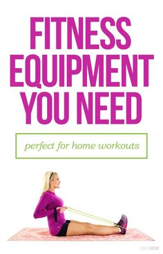 This is the BEST equipment for at-home workouts.