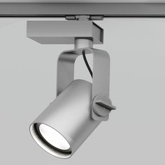 LED swivel aluminium track-light R11 by Martinelli Luce design Emiliana Martinelli