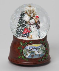 Love this Children & Snowman Musical Snow Globe Christmas Themed Cake, Christmas Themes, Christmas Holidays, Christmas Decorations, Merry Christmas, Snowman Snow Globe, Christmas Snow Globes, Christmas Crafts For Gifts, Craft Gifts