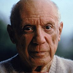 A picture quote from Pablo Picasso.