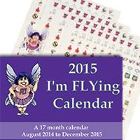 """A 17 month calendar, currently from August 2014 to December 2015. This is the best wall calendar available to help you keep your family a priority and keep track of their comings and goings. This is a large, spiral- bound calendar (Size: 14 by 21 inches when open) with large squares (Squares 1.88"""" x 3.2"""") that make it very easy to see, even from across the room."""