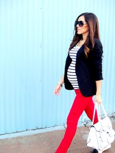 If I ever decide to I want to look like this (unrealistic- I know). My chic bump #pregnancy fashion lookbook