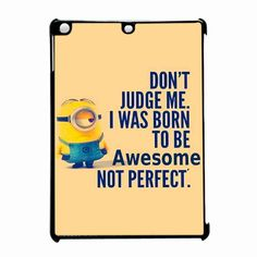 Minion Quote iPad Air Case