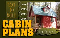 Small Hunting Cabin Plans | ... hunting cabins , beach bungalows, mountain cabin home plans , or