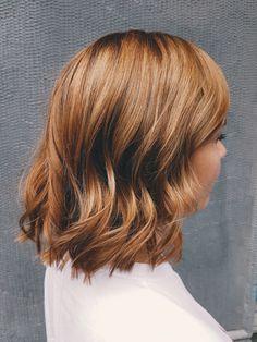 Lovely light copper hair by Susanna Poméll @healthyhairfinland