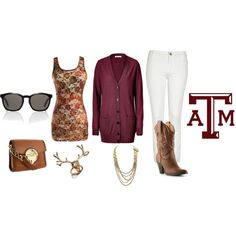 Aggie game day outfit! I think they made this just for me! AGGIES ALL THE WAY! (: