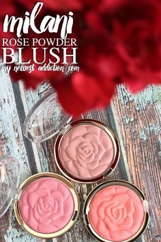 Milani Rose Powder Blush | Review and Swatches