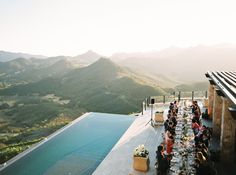 Wedding with a view! What more could you ask for? Photography:Erich Mcvey Tags:Venue, Summer, Outdoors, Scenery, Travel Location:Malibu, California, North America, United States