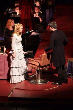 Johanna and Sweeney Todd