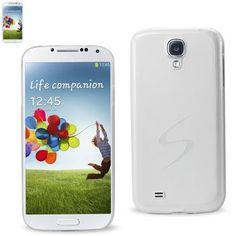Reiko See Through Protector Cover Samsung Galaxy S4 White