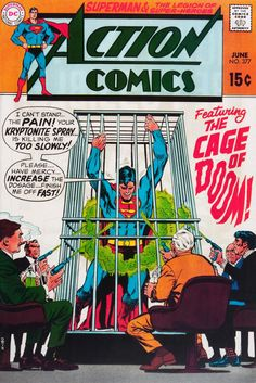 Cover art by Curt Swan and Neal Adams, 1969