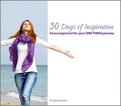 30 days before my 30th birthday...30-Day One Thing Challenge - Intentional Living