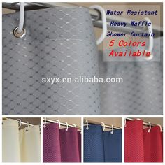 Check out this product on Alibaba.com App:Hotel Quality Waffle Weave Shower curtain Mildew Free Water Resistant Bathroom Curtain 72x72inch-silver grey https://m.alibaba.com/jqqYRb