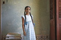Beautiful young cuban ballerina girl shot in Havana