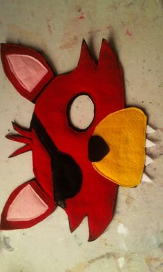 Five Nights At Freddy Paper Craft Template Google Search