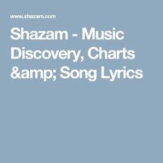 Shazam - Music Discovery, Charts And Song Lyrics