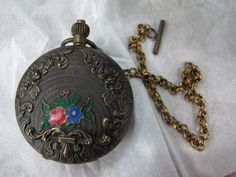 Old Only Pocket Watch with Chain