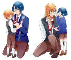 Ren and Masato - Uta no Prince Sama