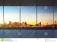 Office Interiors, Home Office, Empty, Stock Photos, Sunset, Image, Beautiful, Design, Home Offices