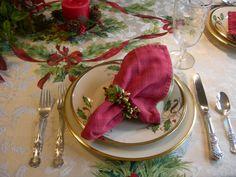 Lenox Christmas tablescape