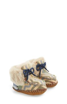 UGG® Australia 'Sparrow - Pendleton' Boot (Baby & Walker) available at #Nordstrom