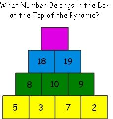 Rubicon-like Puzzle – Best Puzzles, Games, Ideas & 3rd Grade Math, Math Class, Fun Math, Math Games, Math Olympiad Questions, Family Math Night, Brain Teasers For Kids, Math Blocks, Math Talk