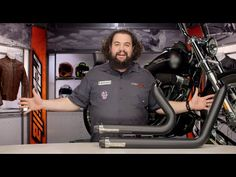 Kuryakyn Crusher Exhaust Maverick 2-Into-2 System for Harley Review at R...