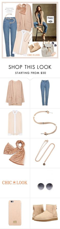 """The Icon Perfected: UGG Classic II Contest Entry♥♥♥"" by marthalux ❤ liked on Polyvore featuring MANGO, Topshop, Victoria Beckham, Alexander McQueen, Tory Burch, Aamaya by Priyanka, Dolce&Gabbana, UGG Australia, ugg and contestentry"