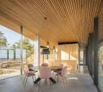 interior design modern glass house finland - Google-Suche