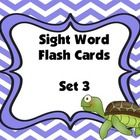 Dolch Sight Word Flashcards (Set 3)   Sight Word Recognition is a very important skill for beginning readers.   *I use these 1 on 1  *Students pair...