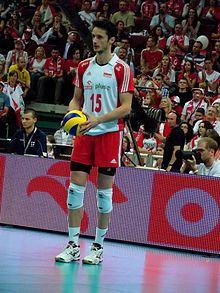 Łukasz Żygadło - Wikipedia, the free encyclopedia Volleyball, Cheer Skirts, Basketball Court, Sports, Free, Hs Sports, Volleyball Sayings, Sport