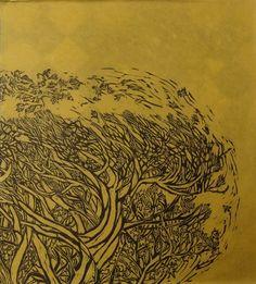 Naoko, Art Japonais, 3 Arts, Japanese Prints, Mark Making, Printmaking, Paper Art, Mustard, Brother