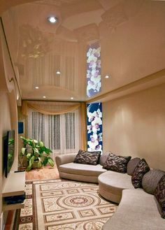 Stretch Ceiling Company in Dubai -Stretched Ceilings in UAE from Imperial Company Bari, Ceiling Design, Ceiling Ideas, Dream Mansion, Dropped Ceiling, Long Day, Companies In Dubai, Ceilings, Stretches