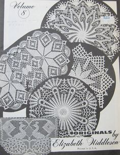 Vintage Originals Crochet Pattern Book by by TheHowlingHag on Etsy, $11.95