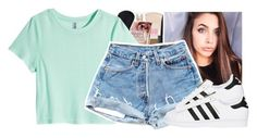 """adidas"" by xxsaraxtaraxx ❤ liked on Polyvore featuring H&M and adidas Originals"