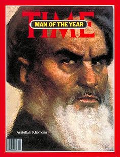 1980: Time magazine's Man of the Year — Ayatullah Khomeini, Leader of the 1979 Iranian Revolution & the country's Supreme Leader