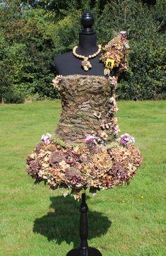 Floral dress wedstrijd Herfstfair Havelte 2014