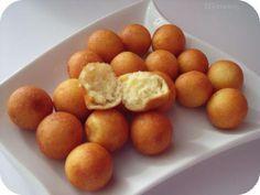 Pommes dauphines maison ultra faciles : purée en sachet + oeuf + lait (+herbes,fromage...) >frire