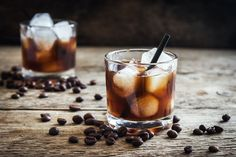 Mixed Drinks at home? Why wouldn't you want to know the top 10 best mixed drinks to make at home-here they are is all they're glory. Coffee Cocktails, Vodka Drinks, Party Drinks, Alcoholic Drinks, Mix Drinks, Beverages, Easy Mixed Drinks, Mixed Drinks Alcohol, Gin
