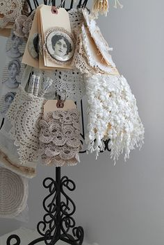 great idea for organizing lace trims in my craft room
