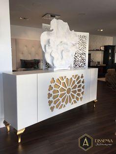 #aparadores #sideboards Franco Furniture en la exposición de https://es.pinterest.com/adissenya/